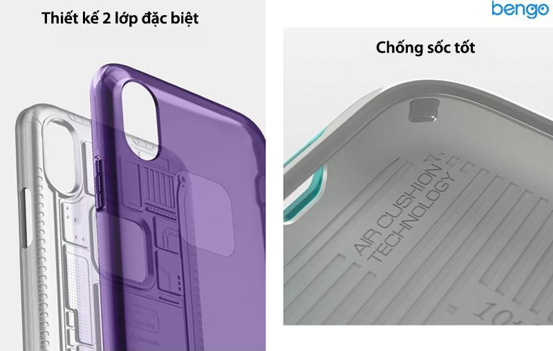Ốp lưng iPhone Xs/X SPIGEN Classic C1