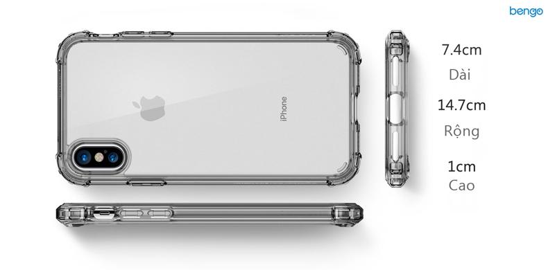 Ốp lưng iPhone X SPIGEN Crystal Shell