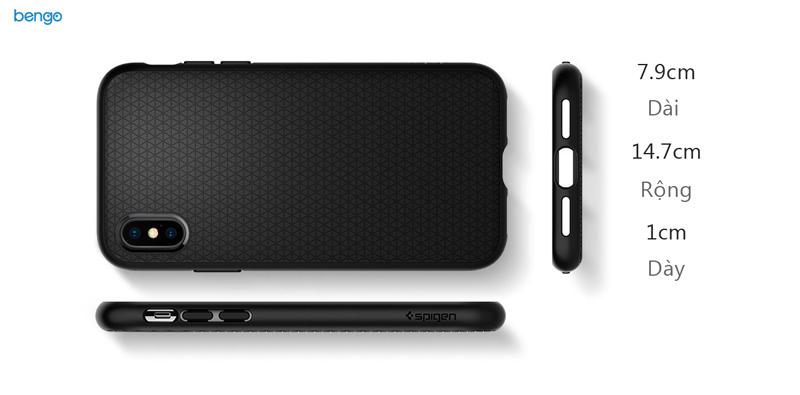 Ốp lưng iPhone X SPIGEN Liquid Air