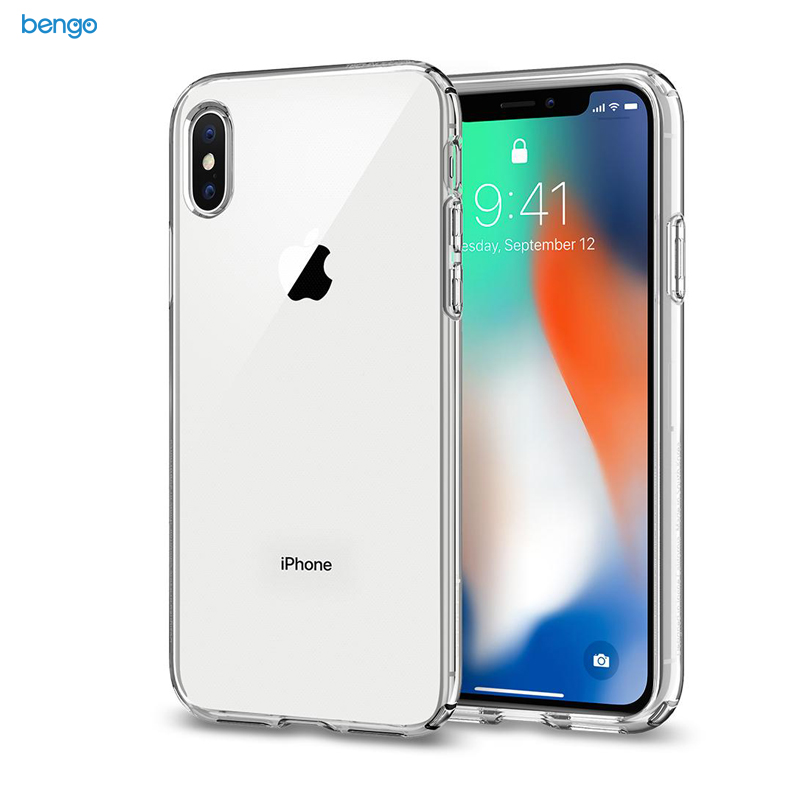 Ốp lưng iPhone X SPIGEN Liquid Crystal