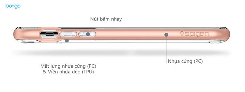 Ốp lưng iPhone X SPIGEN Neo Hybrid Crystal