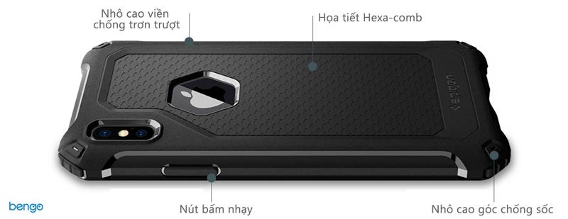 Ốp lưng iPhone X SPIGEN Rugged Armor Extra