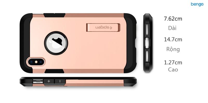 Ốp lưng iPhone X SPIGEN Tough Armor