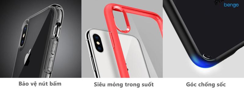 Ốp lưng iPhone X SPIGEN Ultra Hybrid