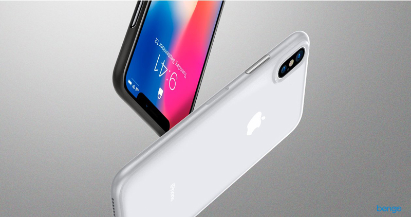 Ốp lưng iPhone X Spigen Air Skin