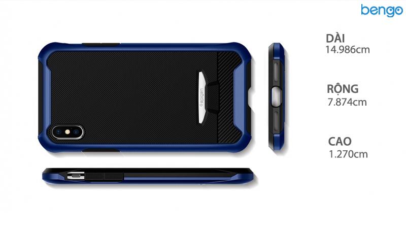 Ốp lưng iPhone Xs/X SPIGEN Reventon (Kèm kính cường lực)