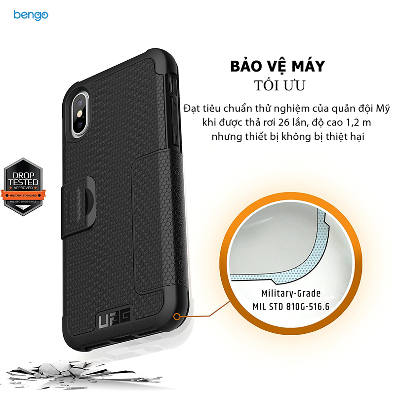 Bao da iPhone X UAG METROPOLIS SERIES