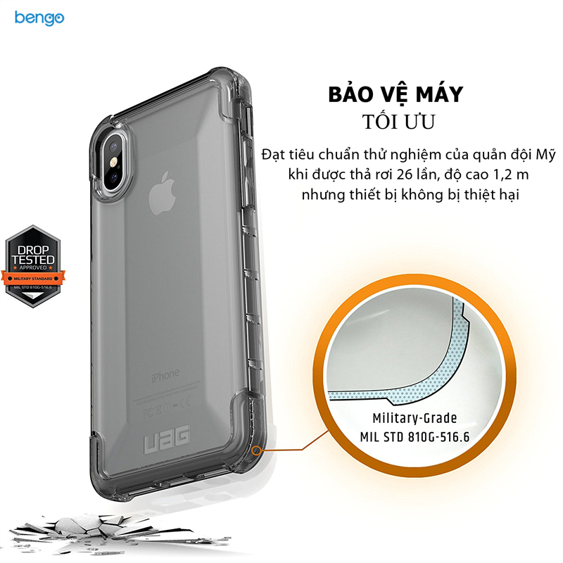 Ốp lưng iPhone X UAG Plyo Series