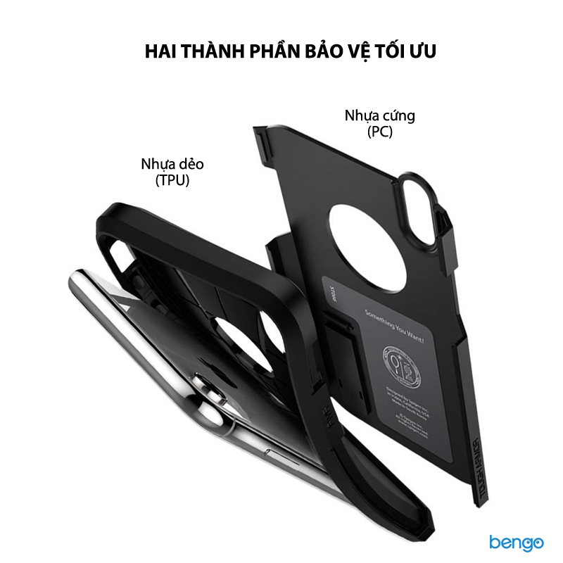 Ốp lưng iPhone XR SPIGEN Tough Armor