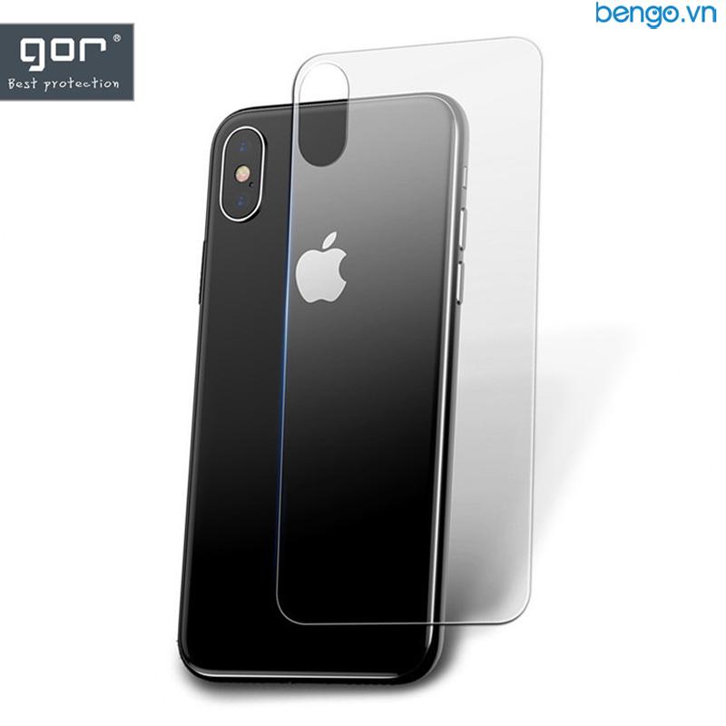 Dán cường lực mặt lưng iPhone X/Xs GOR