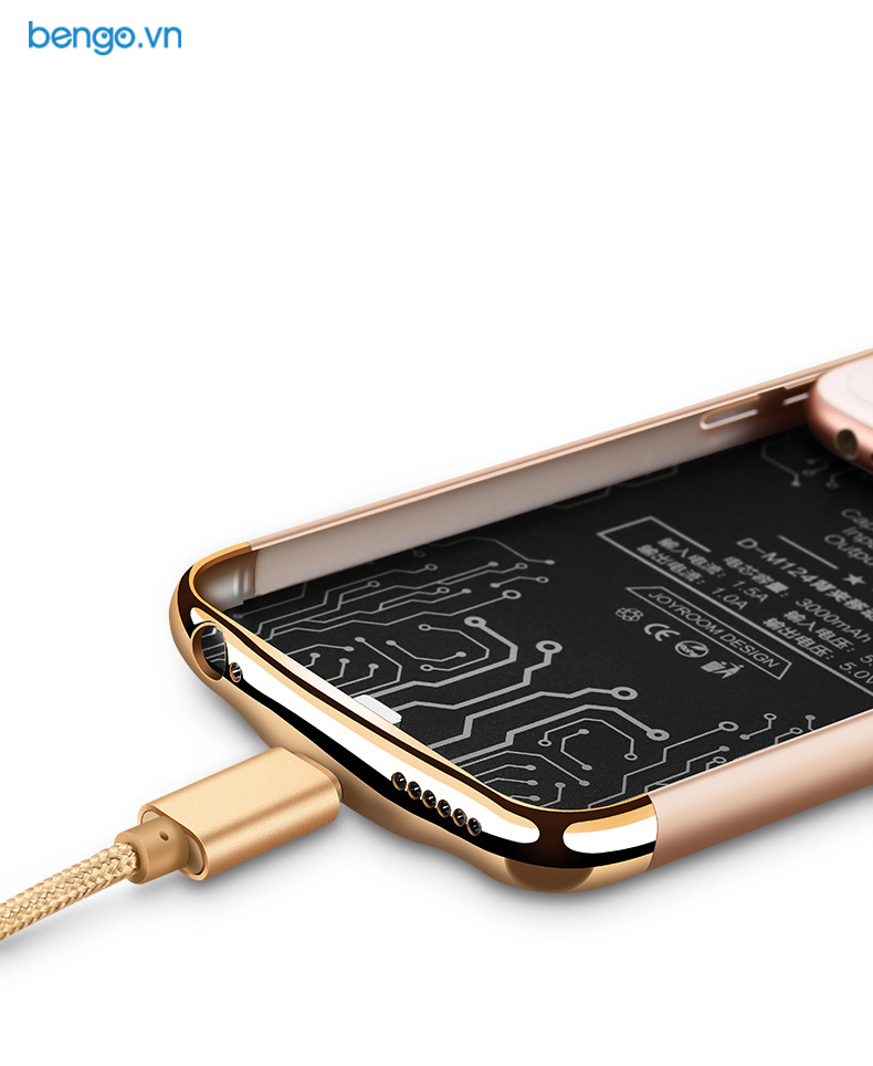 Ốp lưng kiêm sạc dự phòng iPhone 6/6s JOYROOM 2500mAh