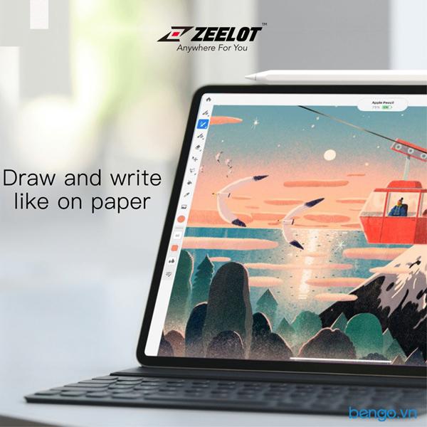 Dán màn hình iPad Paper-like Zeelot cao cấp