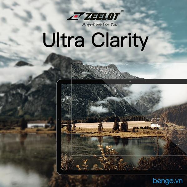 Dán cường lực iPad Mini 5 Zeelot PureGlass 2.5D Clear