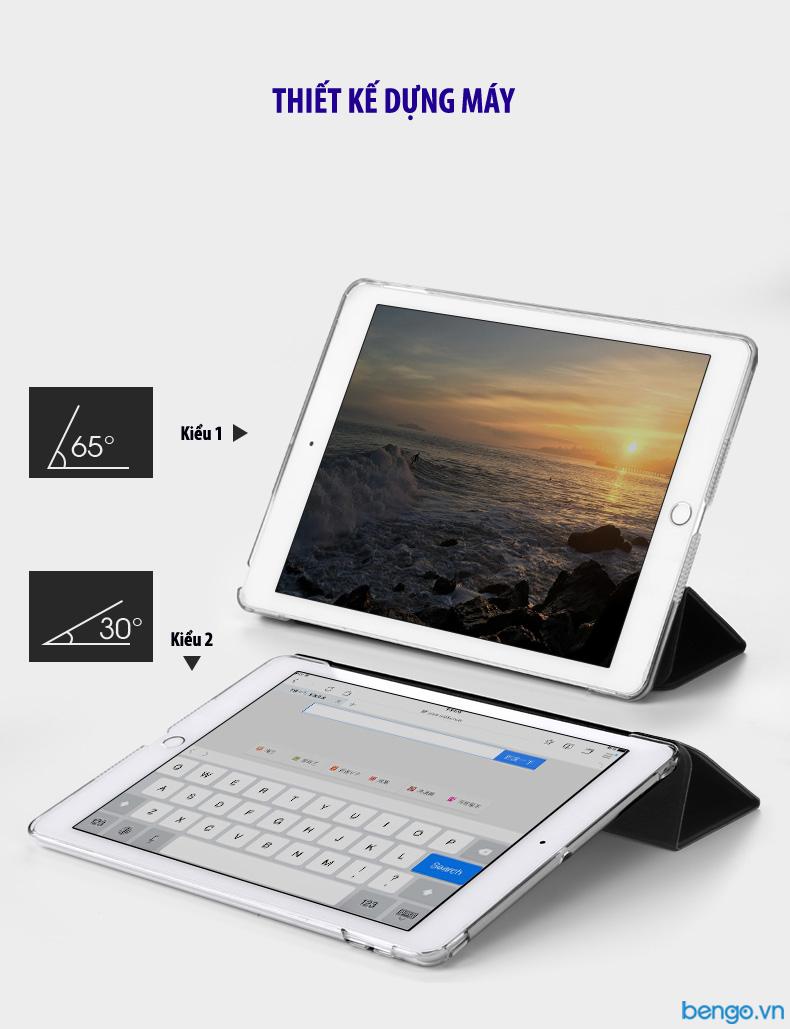 Bao da New iPad 9.7 inches (2017) ROCK họa tiết hoa văn