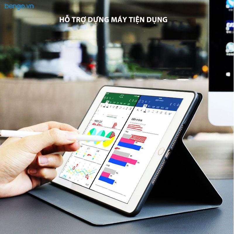 Bao da iPad 9.7 2018/2017 Họa tiết Well Begun is Half Done