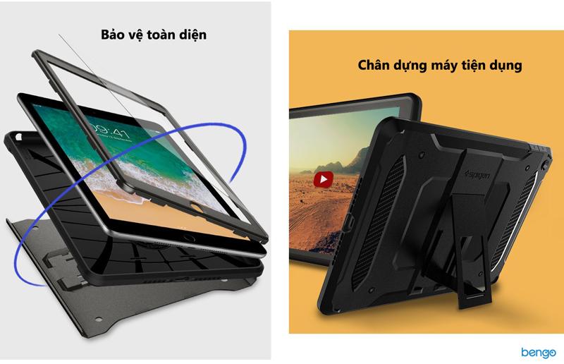 """Ốp lưng iPad 9.7"""" 2018/2017 Spigen Pro Guard"""