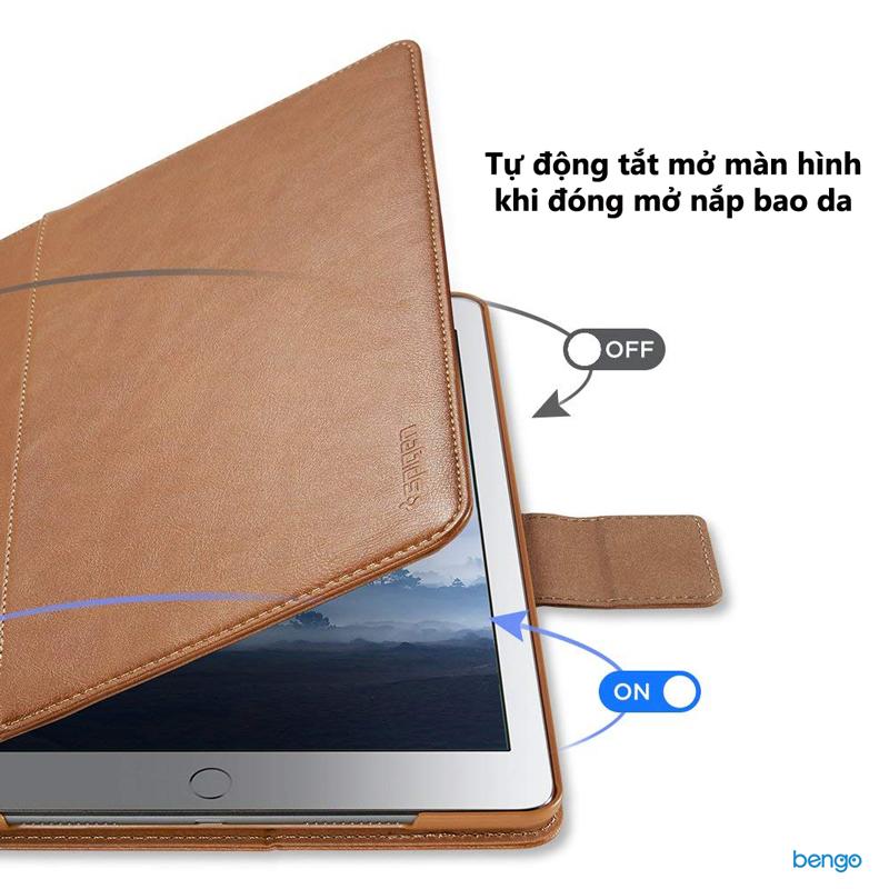 Bao da iPad 9.7'' 2018/2017 Spigen Stand Folio