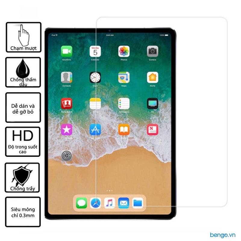 Dán màn hình cường lực iPad Pro 12.9 inch (thế hệ 3) 9H 2.5D siêu mỏng