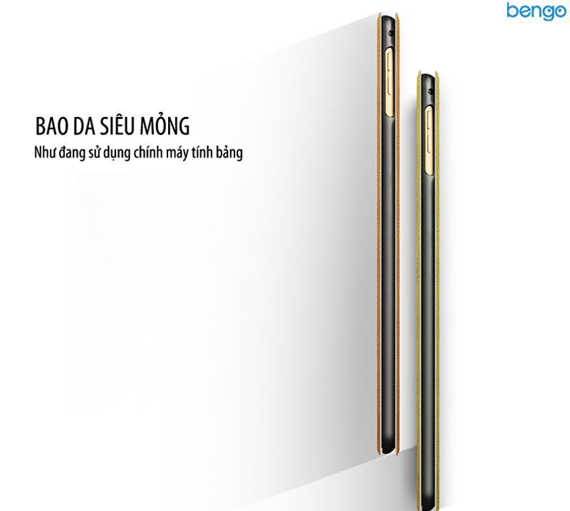 Bao da iPad Pro 9.7'' họa tiết A Bold Attempt is Half Success