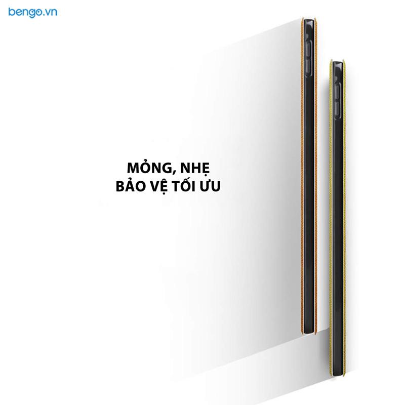 Bao da iPad Pro 11'' 2018 Họa tiết Well Begun is Half Done