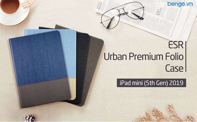 Bao da iPad Mini 5 2019 ESR Urban Premium Folio