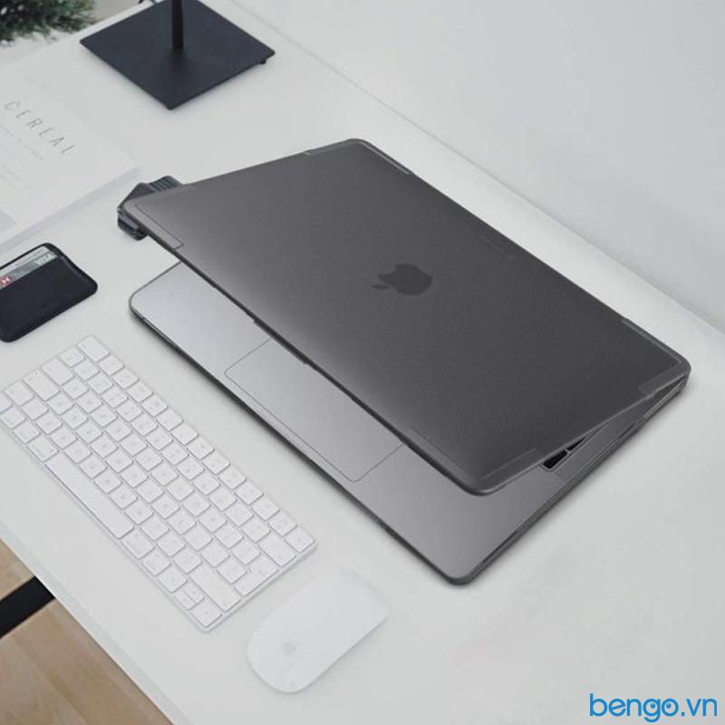 "Ốp lưng Macbook Air 13"" M1 2021 TOMTOC (USA) Hardshell Slim"