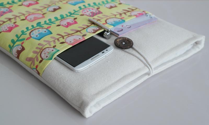 Túi vải Macbook Air 13 inch họa tiết Baby Owl