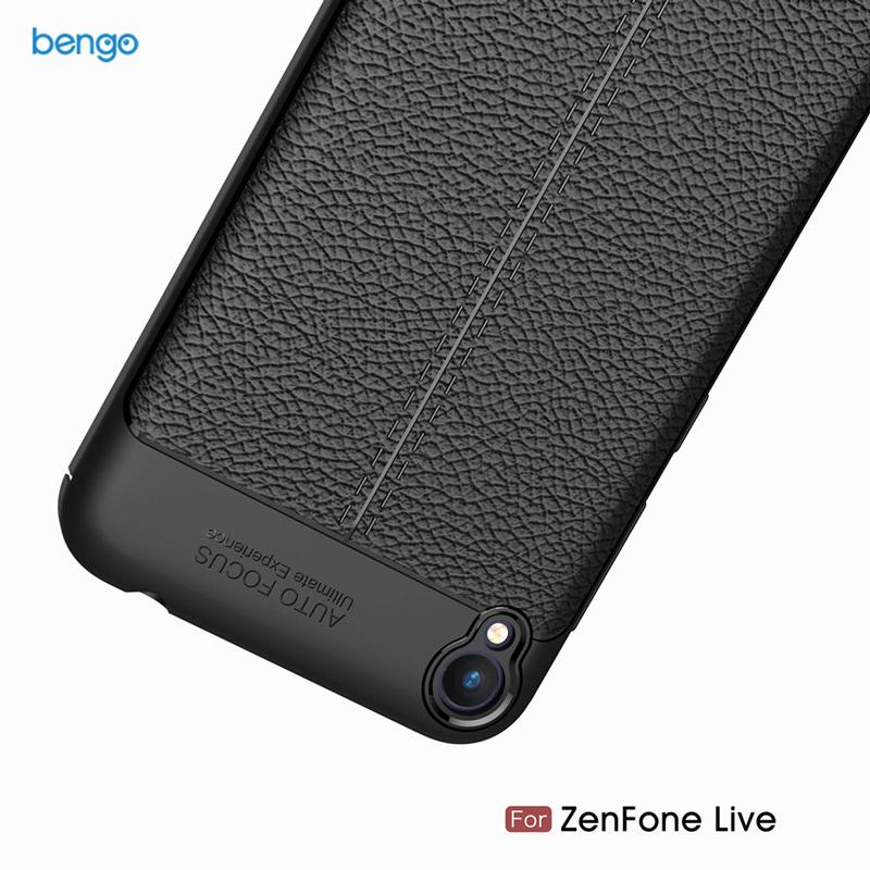 Ốp lưng Asus Zenfone Live (ZB501KL) họa tiết giả da