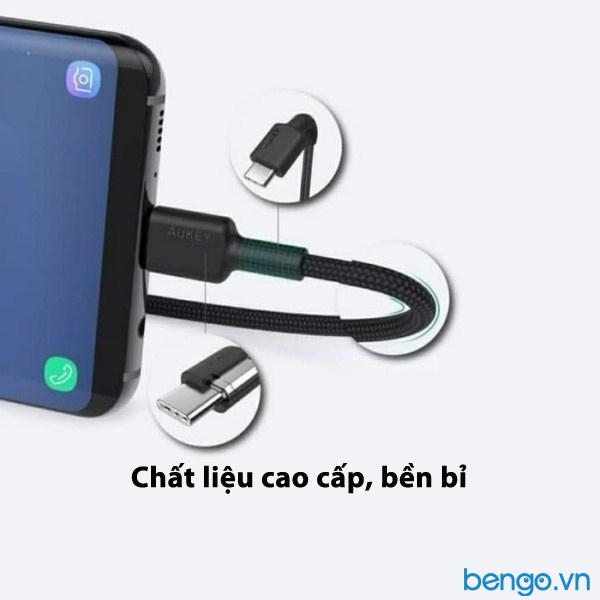 Cáp Aukey USB-C to USB-C 60W dài 2m - CB-CD19