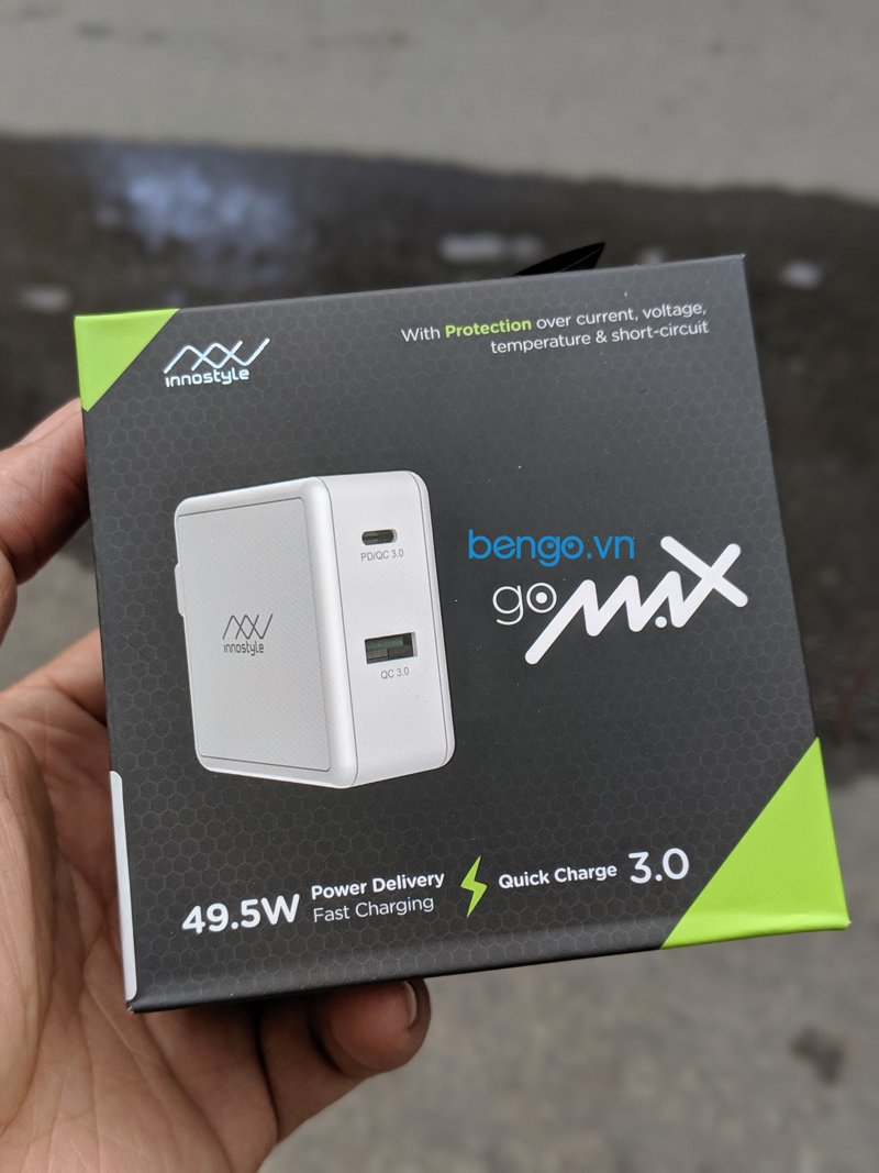 Sạc nhanh INNOSTYLE Gomax Power Delivery 49.5W - IC49PD