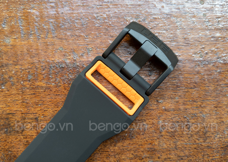 Dây đồng hồ silicone 2 lớp UAG Civilian Universal Watch 22mm