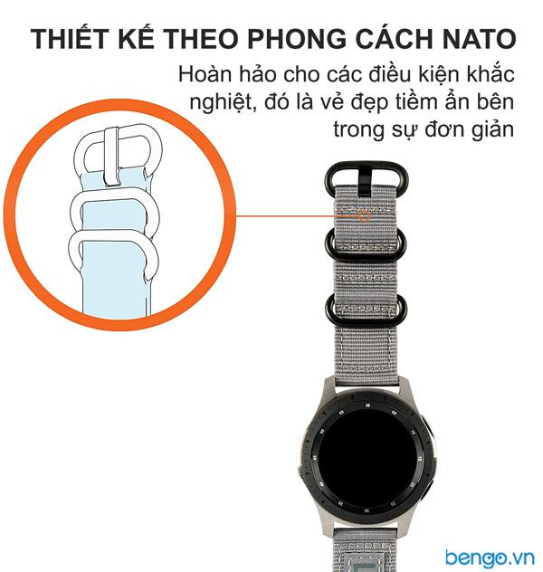 Dây đồng hồ vải dù UAG Nato Universal Watch 20mm