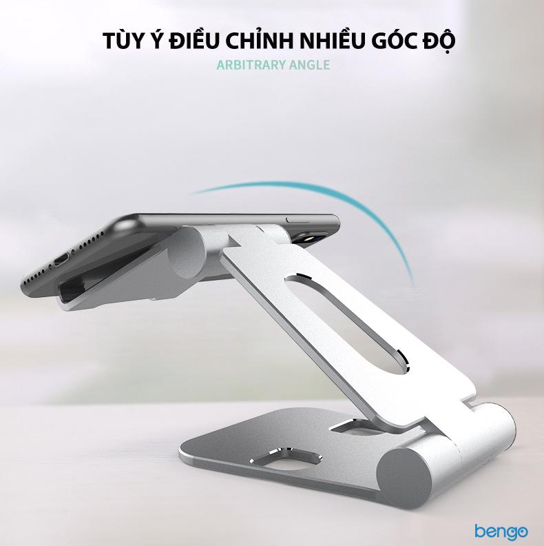 Giá đỡ điện thoại, tablet nhôm cao cấp