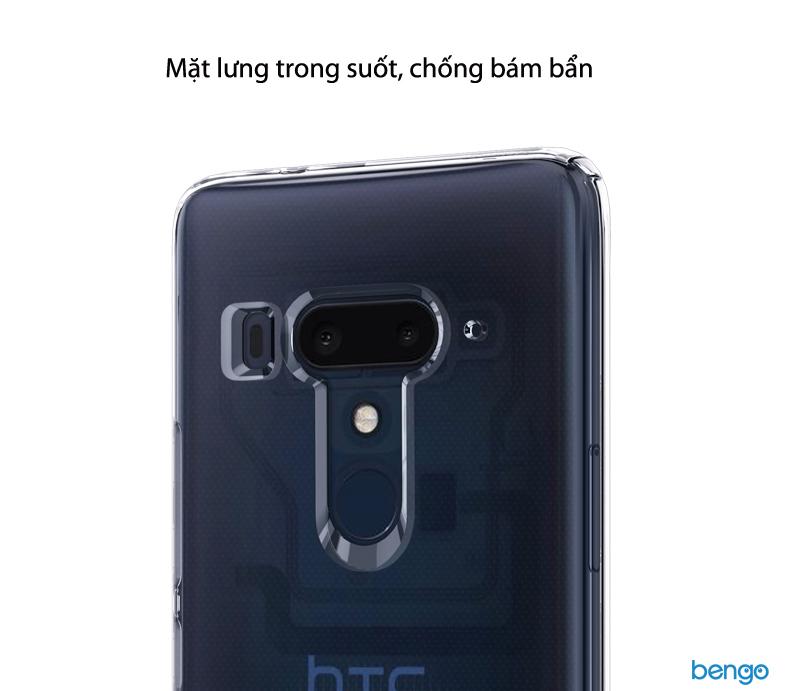 Ốp lưng HTC U12 Plus Spigen Liquid Crystal