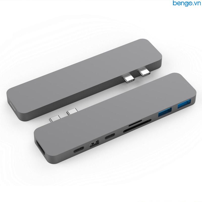 Cổng chuyển HyperDrive PRO 8-in-2 USB-C Hub for MacBook Pro 2016/2017/2018