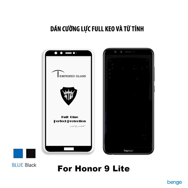 Dán cường lực Honor 9 Lite 3D full keo và từ tính