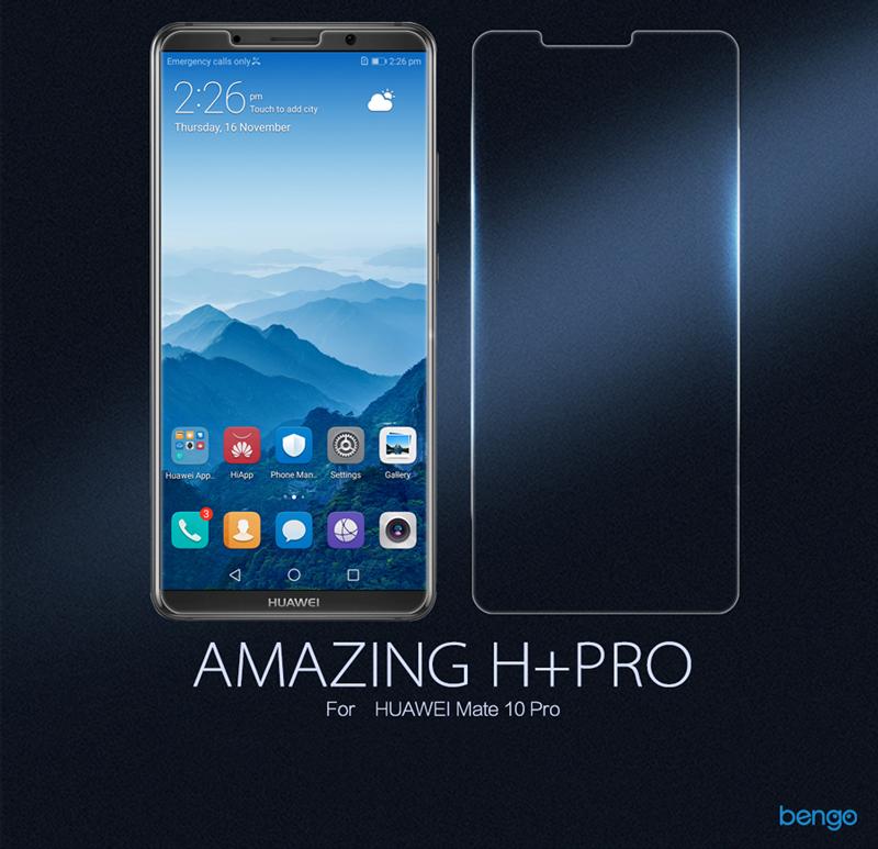 Kính cường lực Huawei Mate 10 Pro Nillkin Amazing H+ Pro