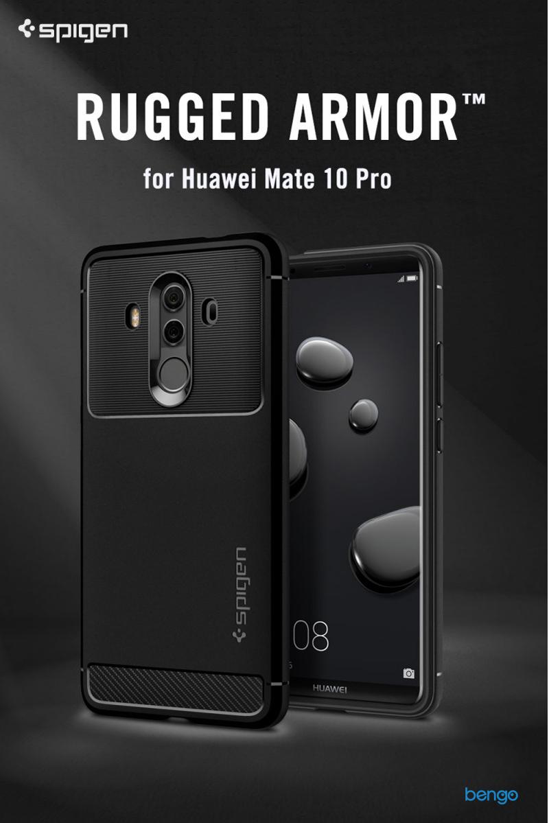 Ốp lưng Huawei Mate 10 Pro SPIGEN Rugged Armor