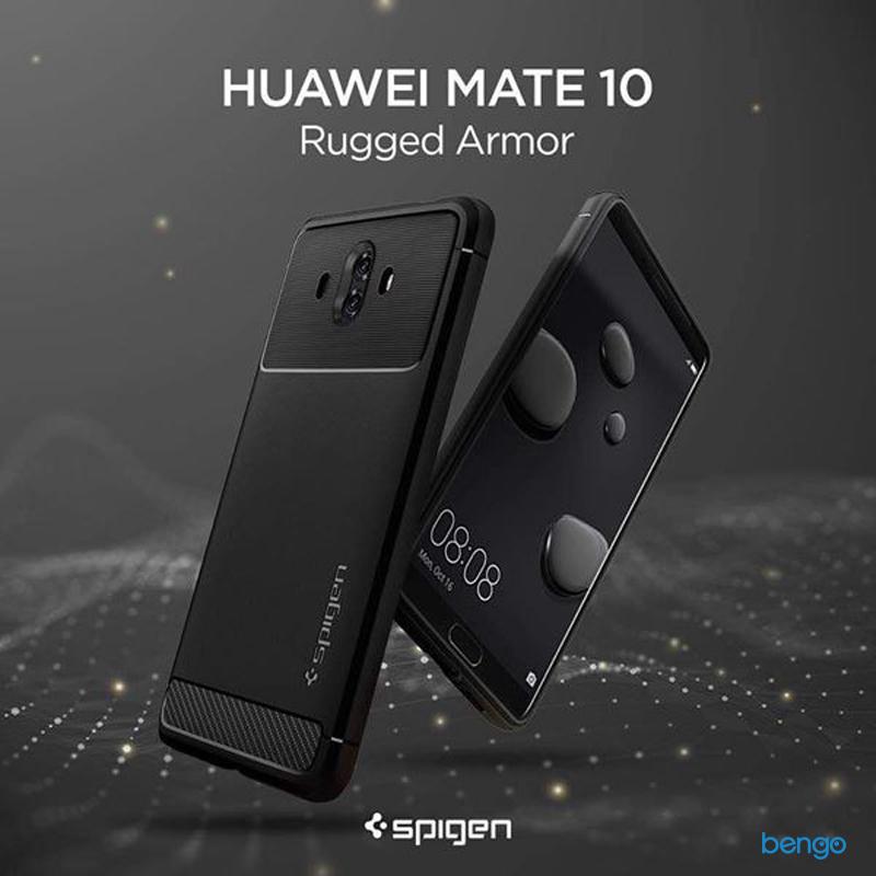 Ốp lưng Huawei Mate 10 SPIGEN Rugged Armor