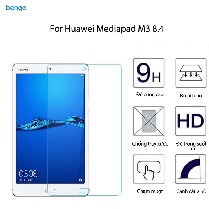 Dán màn hình cường lực Huawei Mediapad M3 8.4 9H+ Pro