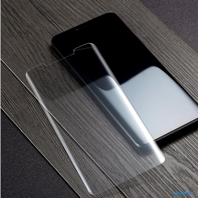 Dán màn hình cường lực Huawei Mate 20 Pro keo UV trong suốt