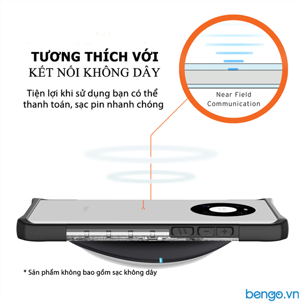 Ốp lưng Huawei Mate 40 UAG Plasma - ICE