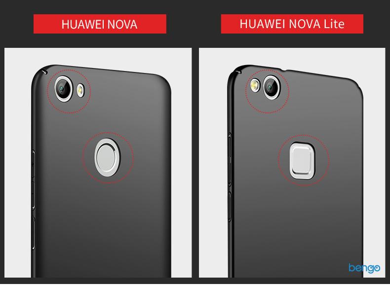 Ốp lưng Huawei Nova MSVII nhựa Polycarbonate siêu mỏng