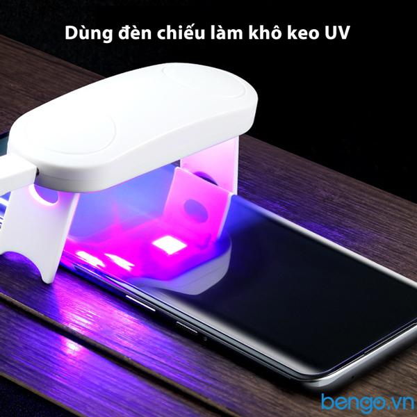 Dán cường lực UV Huawei P50 Pro 9H siêu mỏng