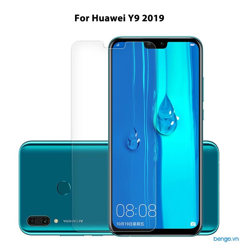 Dán màn hình cường lực Huawei Y9 2019 9H