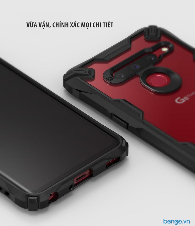 Ốp lưng LG G8 Ringke Fusion X