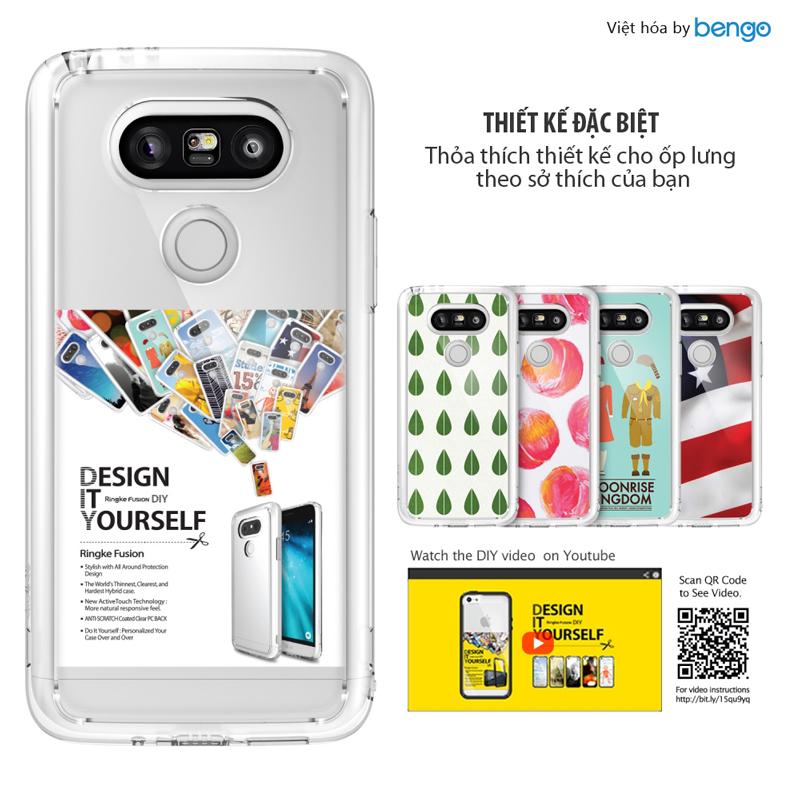 Ốp lưng LG G5 Ringke Fusion