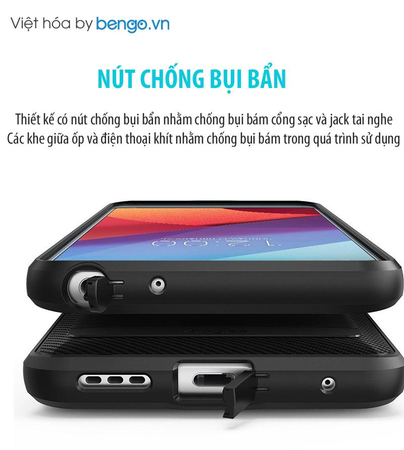 Ốp lưng LG G6 Ringke Onyx