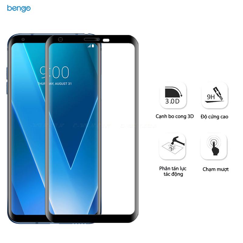 Dán cường lực LG V30 3D Full màn hình