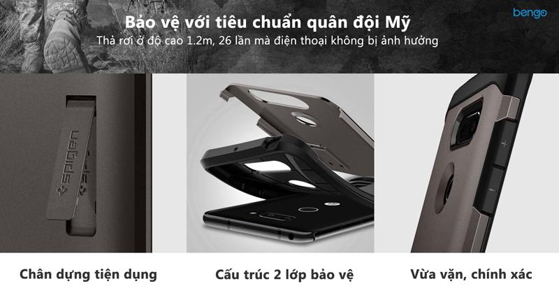 Ốp lưng LG V30 Spigen Tough Armor